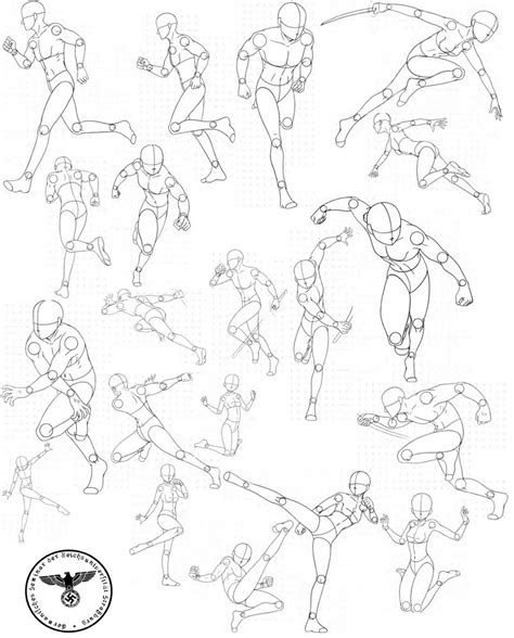 Drawing References by Bodies 3 By Fvsj Drawing Ideas