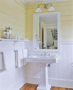 Bathroom Beadboard Ideas Yellow Bathrooms Ideas Amp Inspiration