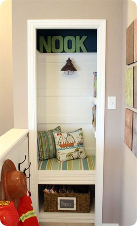 Darryl Is A Boy Who Lives In Closet by 1000 Ideas About Closet Reading Nooks On