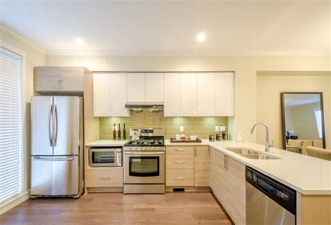 dise o en cocinas modernas dise 241 o interior de la cocina moderna imagen de archivo