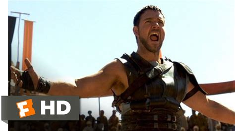 film online you are not you gladiator 4 8 movie clip are you not entertained