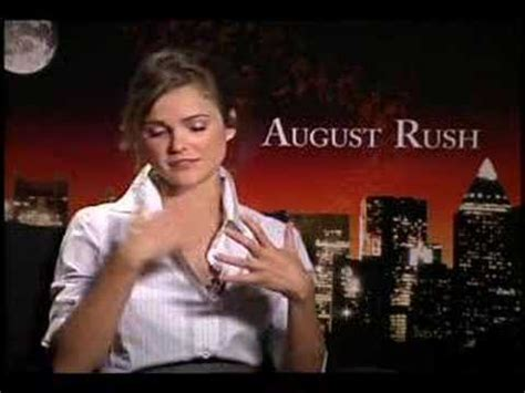 keri russell covergirl keri russell august rush interview youtube