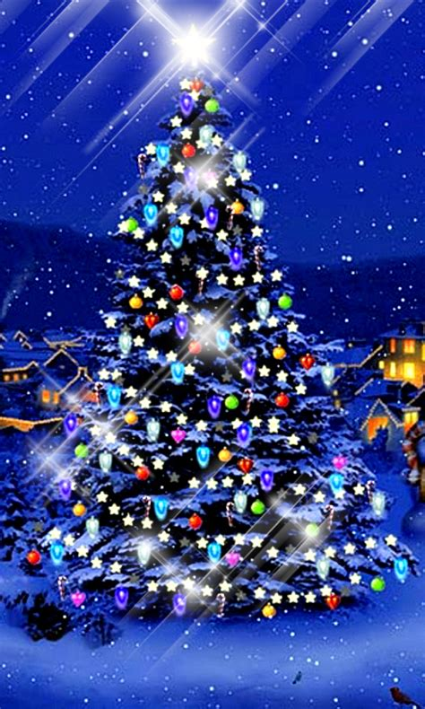 christmas tree live wallpaper image 2 aim entertainments