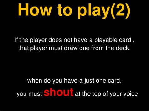 how to play how to play uno