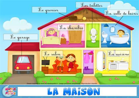 Pour La Maison by 192 Toi De D 233 Couvrir La Maison Vocabulaire