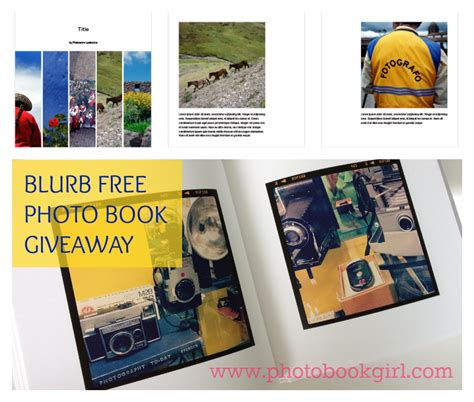 Book Blog Giveaway - blurb photo book giveaway 200 in prizes blurb coupon codes photobookgirl com