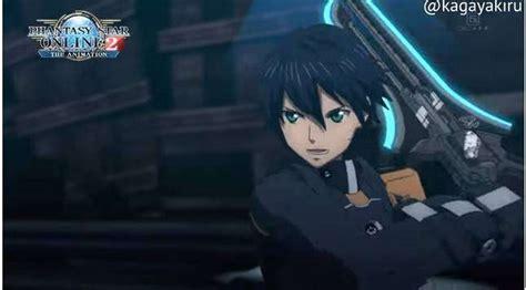 inilah cuplikan adegan aksi dari seri anime phantasy