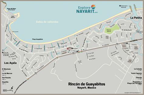 nayarit town maps explore nayarit