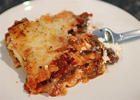 Easy Lasagna Recipe With Ricotta Cheese No Cottage Cheese by Pin By On Recipes