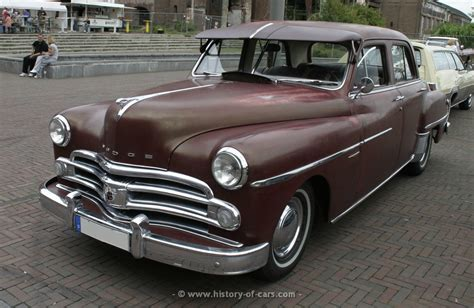 1950 dodge cars dodge 1950 coronet 4door sedan the history of cars