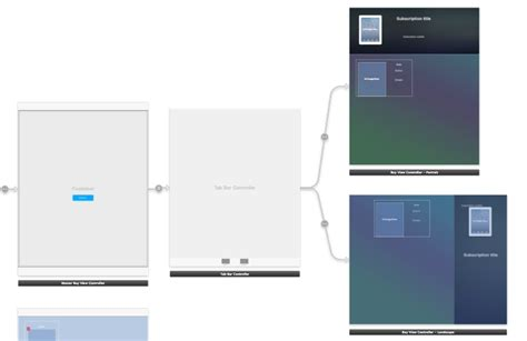 xcode layout files xcode alternative ios layouts for portrait and landscape