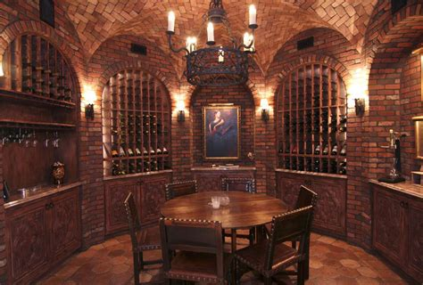 Mediterranean Style Mansions A Collection Of Lavish Wine Cellars Homes Of The Rich