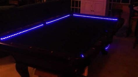 led pool table light rgb led bar pool table lights color changing and beats