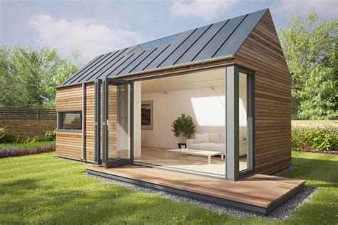 pod houses modern eco pod tiny house by pod space