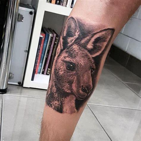australian tattoo designs for men 50 kangaroo designs for australian animal ideas