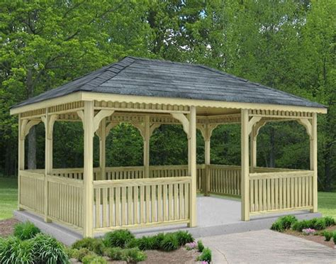 rectangular gazebo 89 gazebo designs ideas wood vinyl octagon rectangle