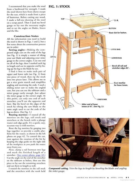 bar stool plans    diy bar stools bar