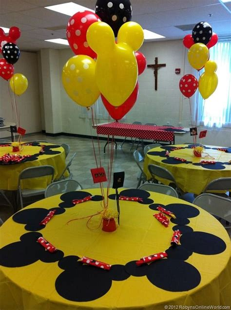 Mickey Mouse Decorations Diy by Diy Mickey Mouse And Minnie Mouse Decorations
