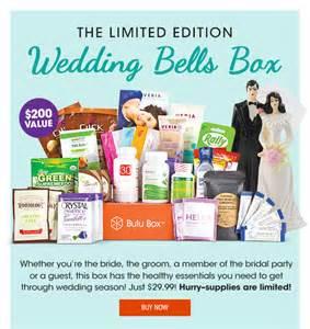 Wedding Bells Quiz by Bulu Box June 2014 Limited Edition Wedding Bells Box