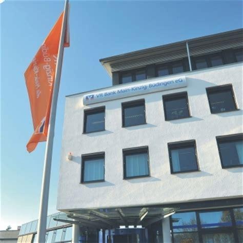 Vr Bank Kinzig B 252 Dingen Eg In Deutschland