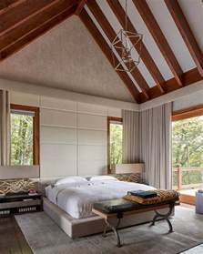 Contemporary Platform Bed Vaulted Ceilings A Modern Twist On Classic Architecture