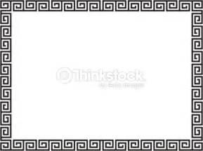 style grec noir ornement cadre d 233 coratif clipart vectoriel