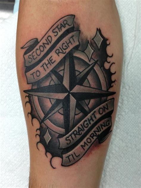 tattoo compass and rose compass rose by richard andrews tattoonow