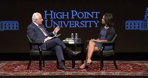 Rice Mba Class Schedule by Condoleezza Rice Nido Qubein High Point