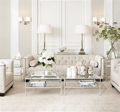 Victorian Bedroom Decorating Ideas eichholtz living room transitional with beige interiors