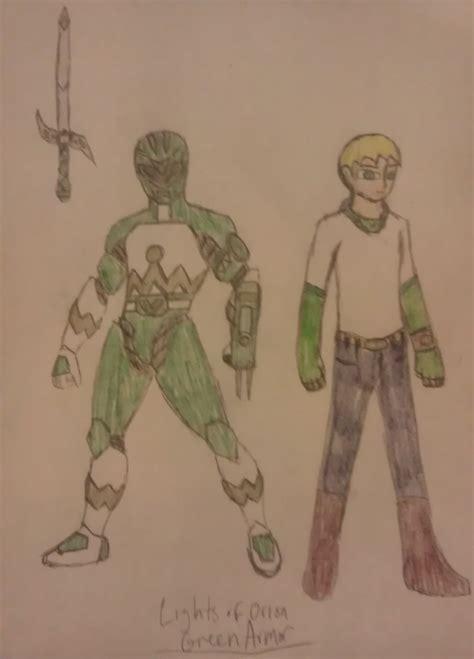 light green range green ranger lights of orion armor soaringphoenix by