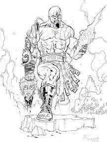 god of war coloring pages sketch of ares god of war coloring pages