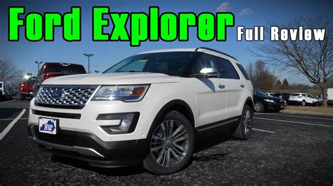 2017 ford explorer limited review 2017 ford explorer review platinum sport limited