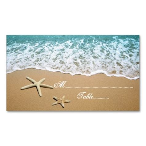 make your own place cards for weddings 17 best images about starfish on