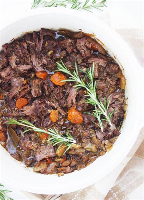 oven pot roast recipe