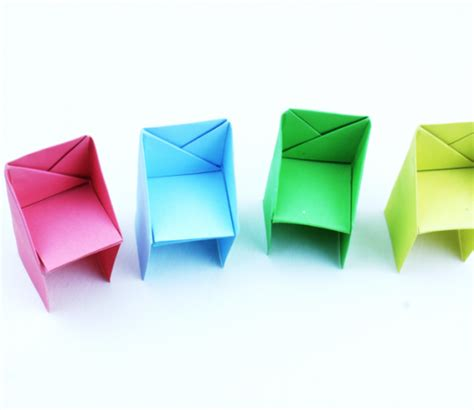 Creative Origami - origami chair archives creative school