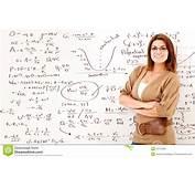 Math Teacher Stock Image Of Girl Division Full