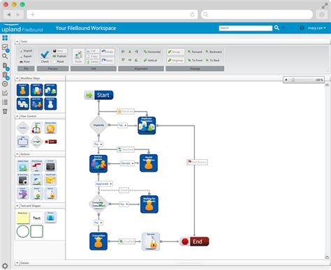 workflow automation software document workflow automation upland software