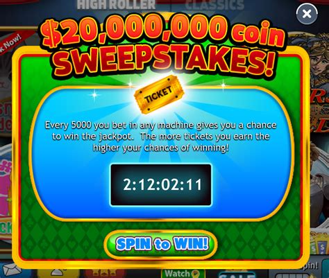 Sweepstakes Period - lucky slots sweepstakes rockyou support
