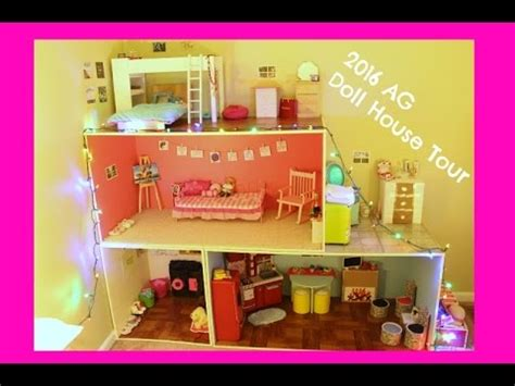 my ag doll house tour 2016 american girl doll house tour youtube