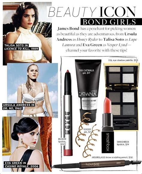 007 Tips To Create A Bond Look by 45 Best Makeup Images On