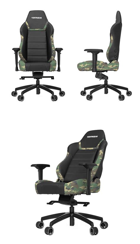 Camo Cing Chair by Vertagear Racing P Line Pl6000 Gaming Chair Camouflage Se