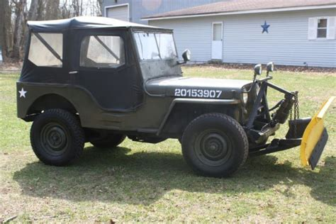 willys jeep truck green willys cj2a army like 1947 green for sale cj2a116379 1947