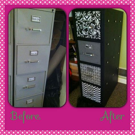 Chalk Paint On Metal Filing Cabinet Updating Metal Filing Cabinets Using Chalkboard Paint And Mod Podge Craft Ideas