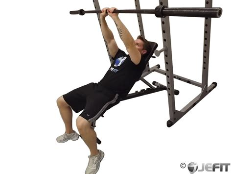 barbell incline close grip bench press exercise database
