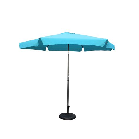 Outdoor 12 Foot Aluminum Umbrella With Flaps International 12 Foot Patio Umbrella