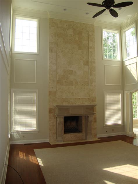 two story fireplace two story great room fireplace carriage house