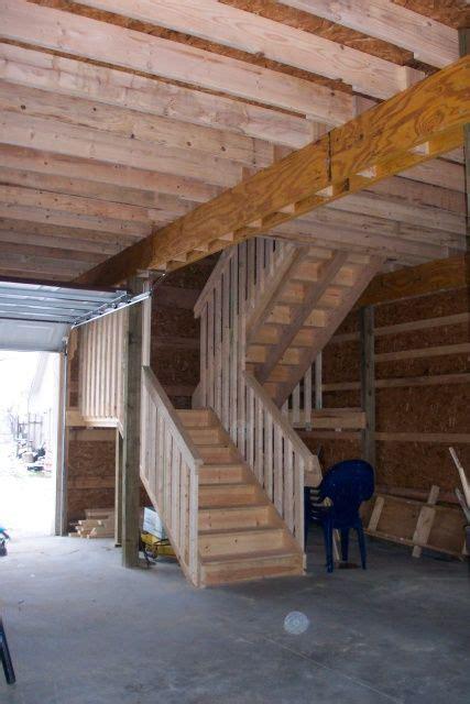 two story pole barn burly oak builders jackson county michigan 20 x 30 2