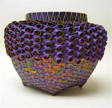 Paper Basket - 17 best images about baskets bowls vessels on