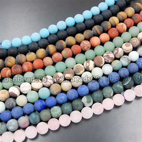 what is a bead wholesale matte gemstone 15 quot 4mm