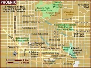 Maps Phoenix by Phoenix North Map